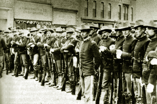Файл:Troops on S Front St Rock Springs WY 1885.jpg