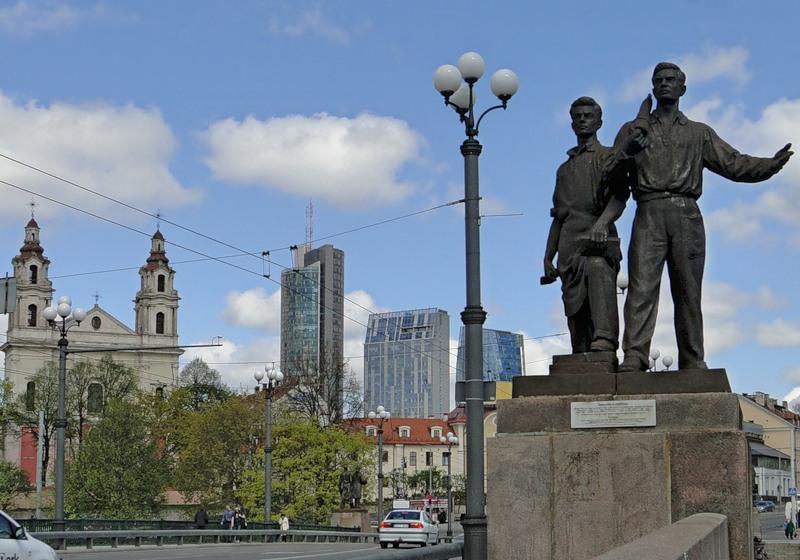Файл:Памятник шахтерам Вильнюс.jpg