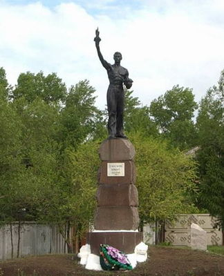 Памятник погибшим на шахте № 8, Черногорск