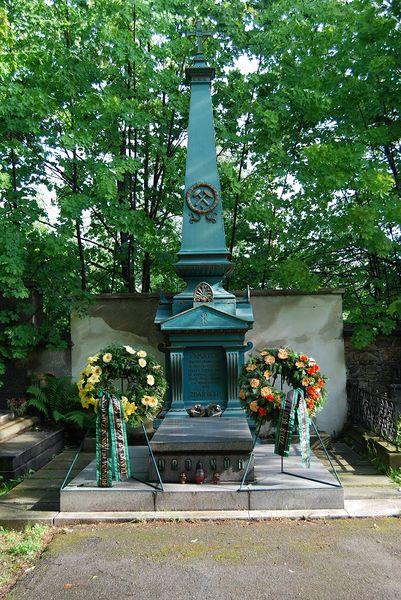 Файл:Памятник погибшим на шахте Мария, Пршибрам.jpg