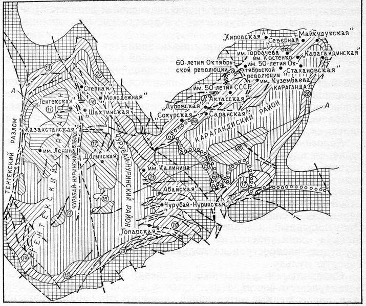 Файл:Карта Карагандинского бассейна.jpg