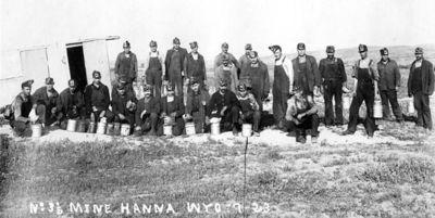 Шахта №3, Ханна 1923