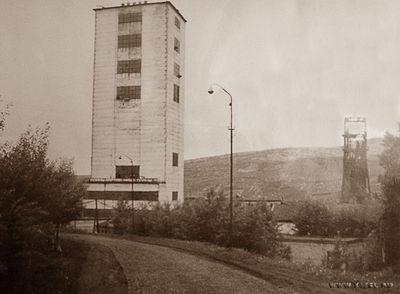 Копер шахты им. Ленина 70-е