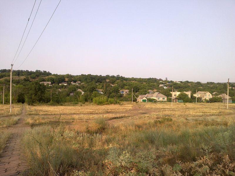 Файл:Балка Крутая. Вид на шахту №25.jpg
