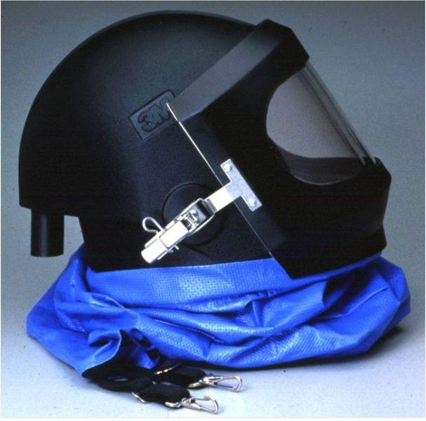 Файл:Шлем 3М от респиратора с принудительной подачей воздуха.jpg