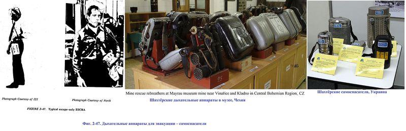 Файл:Фиг. 2-47. Дыхательные аппараты для эвакуации – самоспасатели.jpg