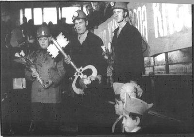 Открытие шахты, 1978 год
