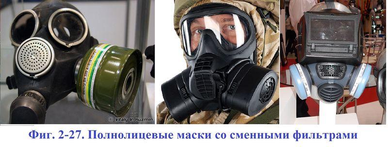 Файл:Фиг. 2-27. Полнолицевые маски со сменными фильтрами.JPG