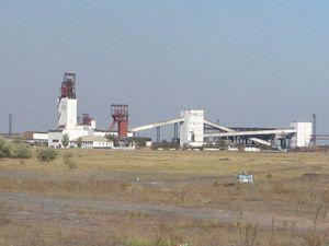 Поверхностные объекты шахты «Шахтинская»