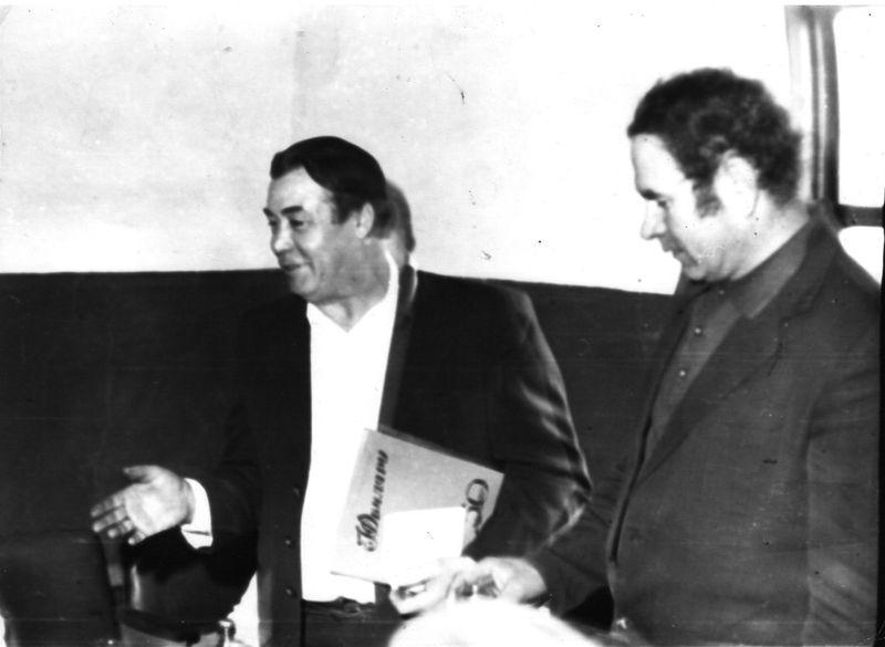 Файл:50 лет Чеснякас Р. и гл.мех. Козлов В.К..jpg