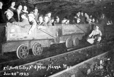 Шахта №4, Ханна 1923