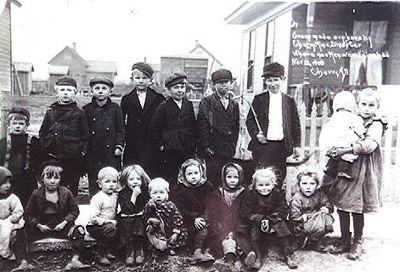Дети погибших шахтеров