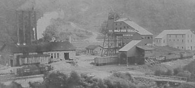 Wolf Run Coal Co. Шахта Элизабет