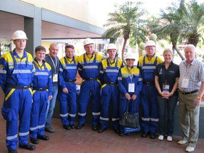 Команда 5 ВГСО на международных соревнованиях в Австралии