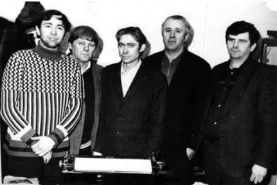 Электроцех. 1983 год