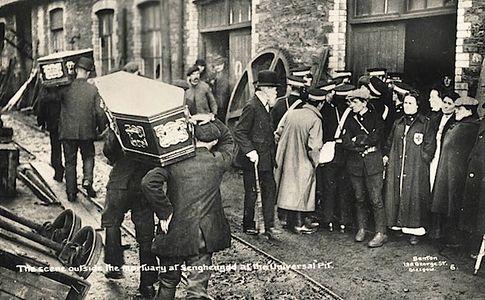 Похороны горняков