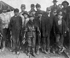 Рабочие шахты Бэсси, округ Джефферсон