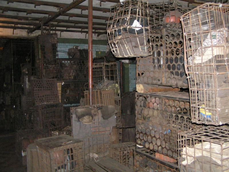 Файл:Рабочая баня шахты Баракова сентябрь 2007-6.JPG