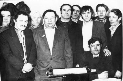 Март 1983 года, бригада автоматчиков