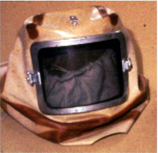 Файл:Капюшон респиратора с принудительной подачей воздуха.jpg