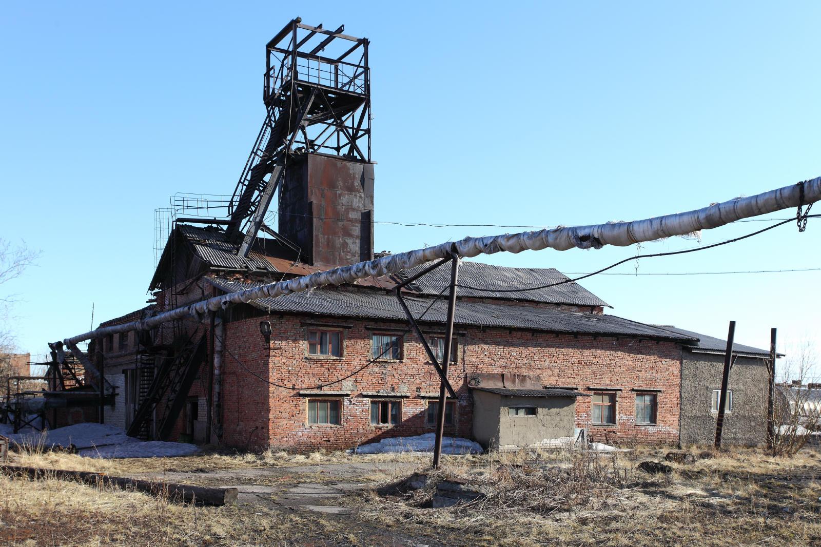 пирогом шахта восточная город инта фото одной